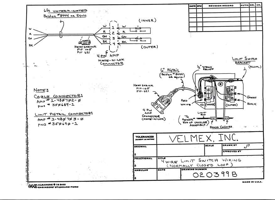 Velmex CAD Drawings