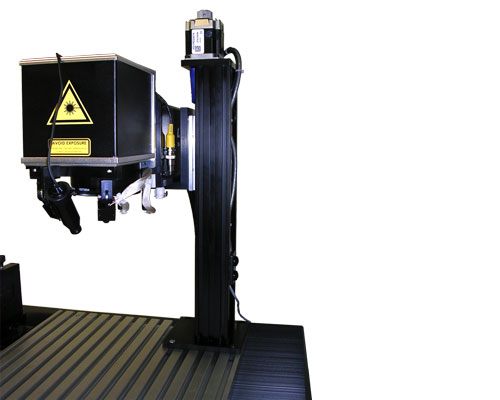 Velmex system for laser imaging