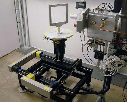 Velmex system for Radiation Lab