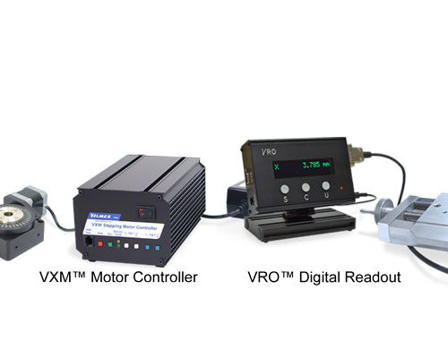 Velmex VXM and VRO Controls