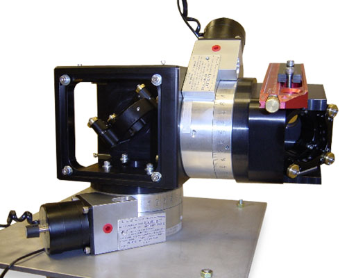 Laser Boom mounted on Rotary Table