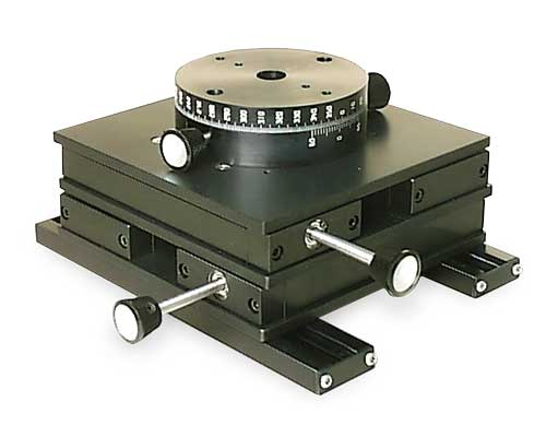 Turntable on XY Table