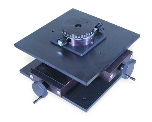 Turntable on AXY Table