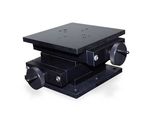Black Anodized UniSlide XY Table