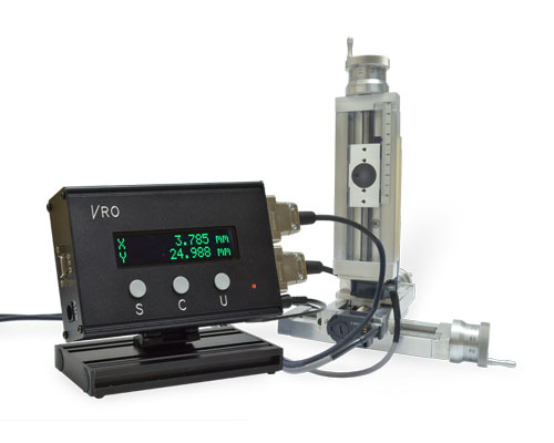 VRO connected to 2-axis UniSlide