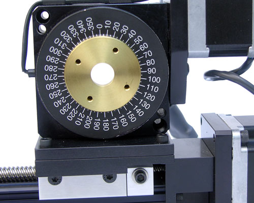 XS001-29B connecting  Rotary Table to XSlide